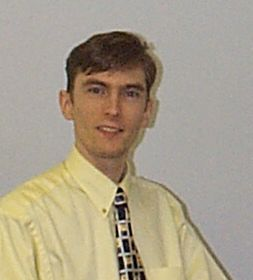 Photo of me at work (quite a few years ago now though!)
